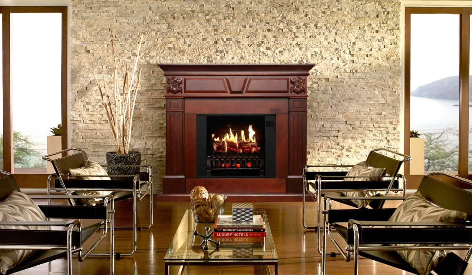 Are Electric Fireplaces Too Tacky to Consider?